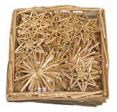Swedish Straw Ornaments 55pc.
