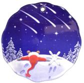 Shooting Stars Ceramic Ornament