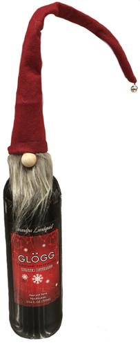 Red Tomten Bottle Topper