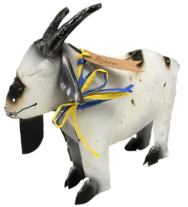 Small Metal Goat