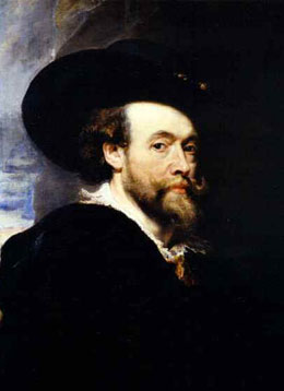 Peter Paul Rubens Black Oil Painting Medium