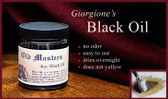 BLACK OIL Painting Medium 4oz.