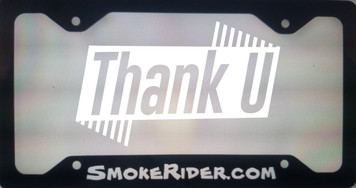 License Plate Frame SmokeRider.com