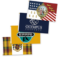 Indoor Outdoor flags
