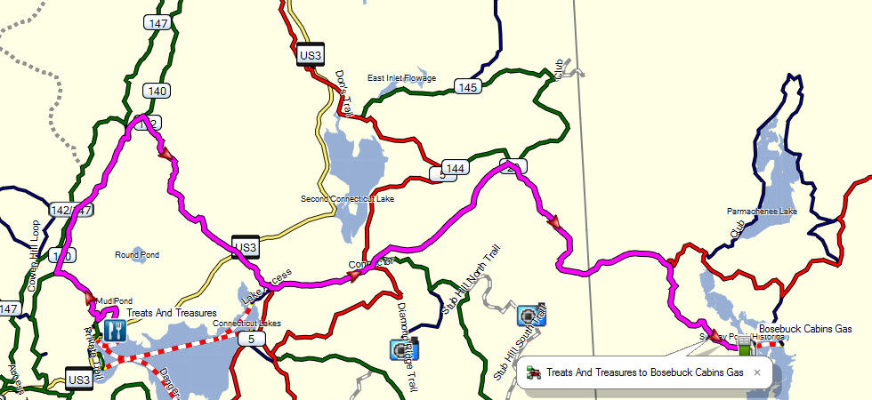 Garmin GPS Maps for Snowmobile and ATV Trails on