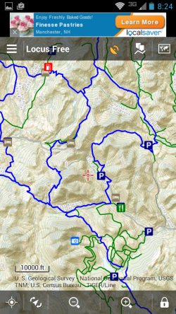 Trail Map Data For Smartphone Apps - Trail map apps
