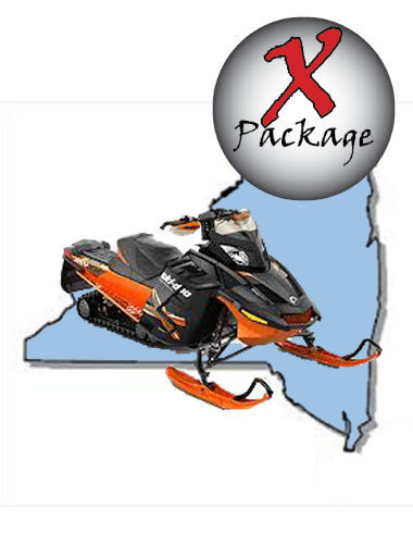 NY GPS Snowmobile Trail Map Wny Snowmobile Trail Map on