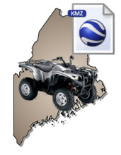 Maine ATV KMZ Map Data