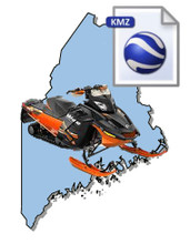 Maine Snowmobile Map Data
