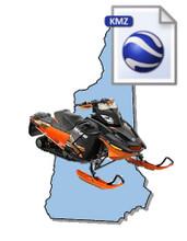 New Hampshire Snowmobile Map Data