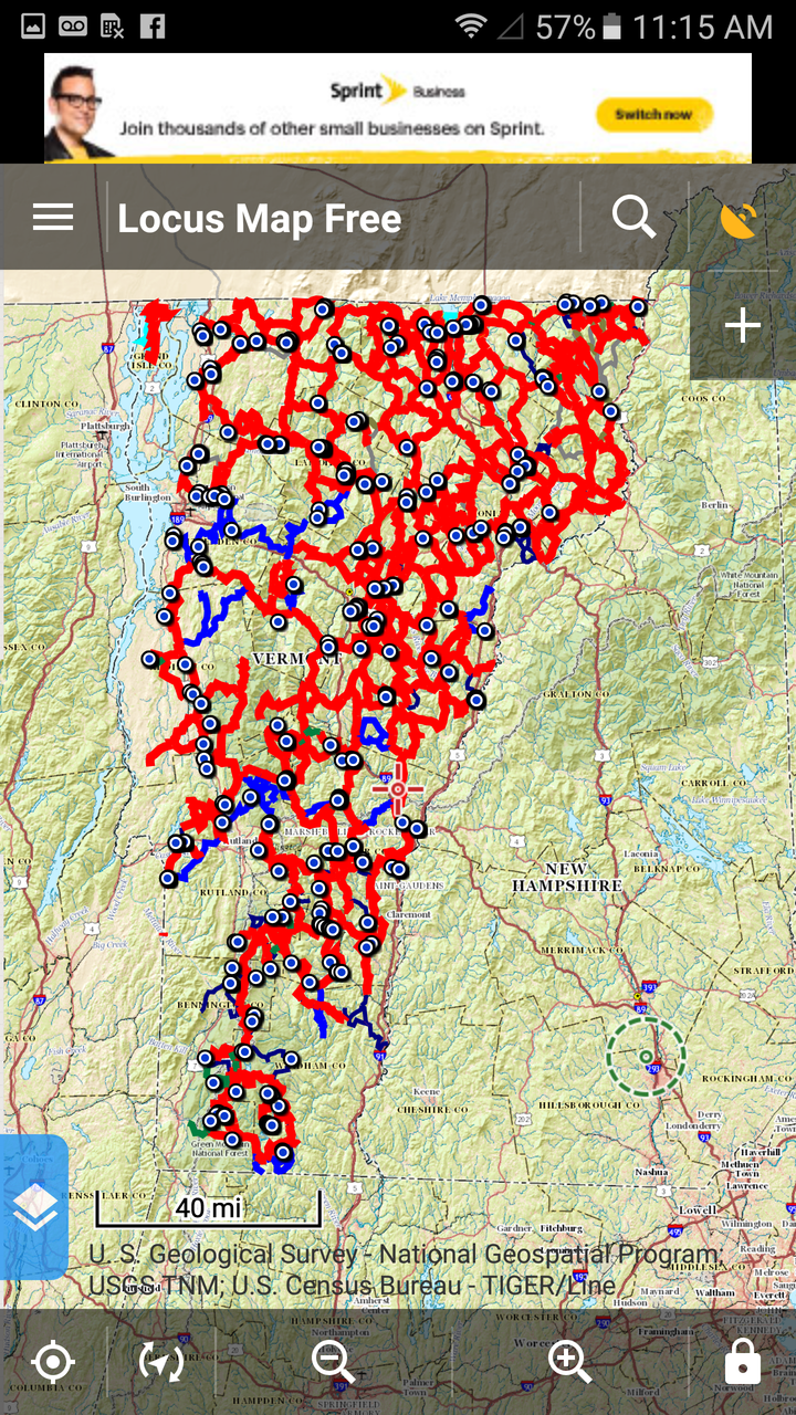 VT Snowmobile Trail App Data