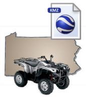 Pennsylvania ATV Map Data