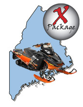 Maine snowmobile GPS trail map