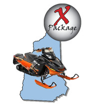 New Hampshire snowmobile GPS trail map