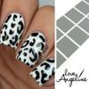 GIRLY BITS COSMETICS Stuck On Love Leopard Nails Shields