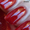 Swatch courtesy of Pointless Cafe   GIRLY BITS COSMETICS Little Red Toque