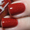 Swatch courtesy of Lavish Layerings   GIRLY BITS COSMETICS Little Red Toque