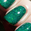 Swatch courtesy of Pointless Cafe | GIRLY BITS COSMETICS Jiminy Christmas