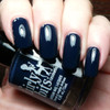Swatch courtesy of Pointless Cafe | GIRLY BITS COSMETICS Blue Christmas