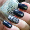 Swatch courtesy of Pointless Cafe | GIRLY BITS COSMETICS Blue Christmas & Don't Tangle Your Tinsel