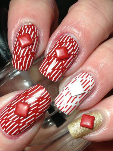 White Wedding Stamping Polish | Canadian Nail Fanatic