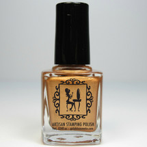 Girly Bits Bronze Goddess Stamping Polish 9mL