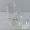Crystal Clear Stamper with Cap, and replacement stamping head Girly Bits Cosmetics