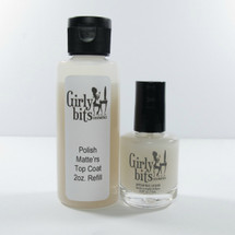 (2oz Refill + 15mL) Polish Matte'rs Top Coat