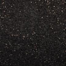 Black Glitter .025 Square | GIRLY BITS COSMETICS