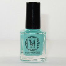 Ker-Minty Frog Here stamping polish | Girly Bits Cosmetics