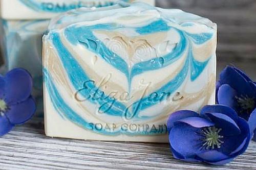 Aqua | Eliza Jane Soap Co. - available at Girly Bits Cosmetics www.girlybitscosmetics.com