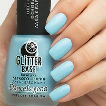Glitter Base Blue - Peel Off Formula | DANCE LEGEND available at Girly Bits Cosmetics www.girlybitscosmetics.com