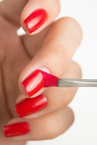 Glitter Base Red - Peel Off Formula | DANCE LEGEND available at Girly Bits Cosmetics www.girlybitscosmetics.com
