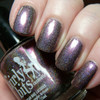 Swatch courtesy of Pointless Cafe | GIRLY BITS COSMETICS Give Me One Good Raisin