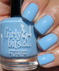 Swatch courtesy of Kellie Gonzo | GIRLY BITS COSMETICS Bleu de tes Yeux Sweet Nothings Collection