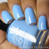 Swatch courtesy of Addicted to Polish | GIRLY BITS COSMETICS Bleu de tes Yeux Sweet Nothings Collection