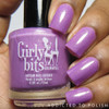 Swatches courtesy of Addicted to Polish | GIRLY BITS COSMETICS Mon Chou Chou from the Sweet Nothings Collection