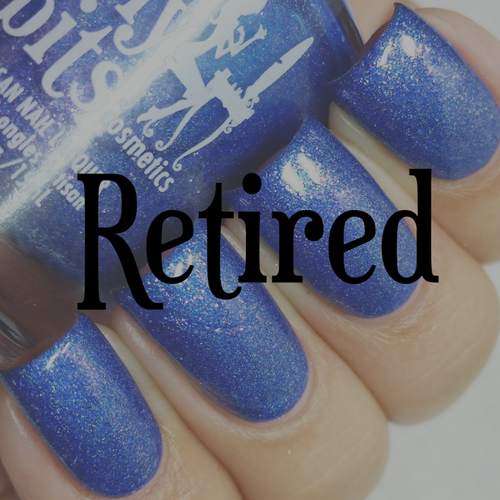 Swatch courtesy of @lacquerloon | GIRLY BITS COSMETICS Dancing in the Moonlight (August 2016 COTM)