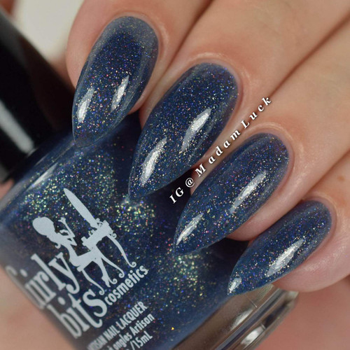 Swatch courtesy of @madamluck | GIRLY BITS COSMETICS How to Find a Naked Man (in Vegas) from the What Really Happened In Vegas 2016 Collection