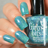 Swatch courtesy of Delishious Nails | GIRLY BITS COSMETICS Showgirl Plucker from the What Really Happened In Vegas 2016 Collection