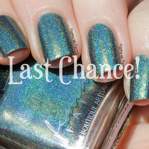 Isle of Cythera  (Birth of Venus Collection)   Femme Fatale available at Girly Bits Cosmetics www.girlybitscosmetics.com