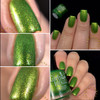 Swatch courtesy of @honeybee_nails | GIRLY BITS COSMETICS Goblin It Up (October COTM)