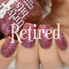 Swatch courtesy of Delishious Nails   GIRLY BITS COSMETICS Ooh la la! (The Indie Shop LE)