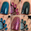The Indie Shop trio. Swatches by HoneyBee_Nails | Girly Bits Cosmetics