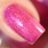 Swatch courtesy of Delishious Nails | GIRLY BITS COSMETICS The Fuchsia Is Ours (CoTM November 2016)