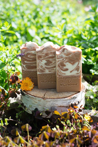 Egg Nog | Eliza Jane Soap Co. - available at Girly Bits Cosmetics www.girlybitscosmetics.com