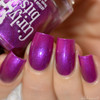 Swatch courtesy of Delishious Nails   GIRLY BITS COSMETICS That's how you get ants from the Codename: Duchess Collection