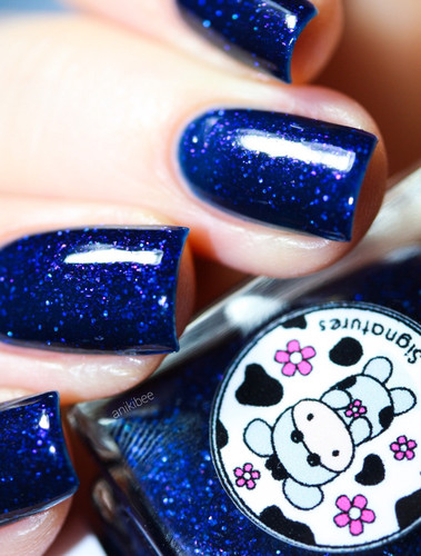 Starless Night with Peaceful Wish (Love & Peace Collection)   MOO MOO SIGNATURES available at Girly Bits Cosmetics www.girlybitscosmetics.com