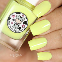 AVAILABLE AT GIRLY BITS COSMETICS www.girlybitscosmetics.com April Moon (Rainbow Flowers Bath Collection) by Moo Moo Signatures | Swatch courtesy of @lylynails