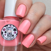 AVAILABLE AT GIRLY BITS COSMETICS www.girlybitscosmetics.com Coral Peony (Rainbow Flowers Bath Collection) by Moo Moo Signatures | Swatch courtesy of @ladyandthe_stamp